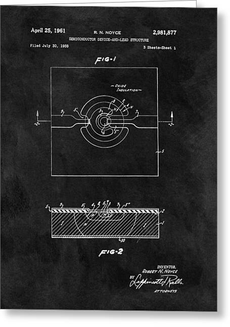 Semiconductor Patent Greeting Card by Dan Sproul