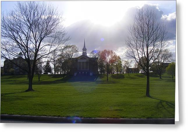 Seminary Ridge Greeting Card by Adam Cornelison