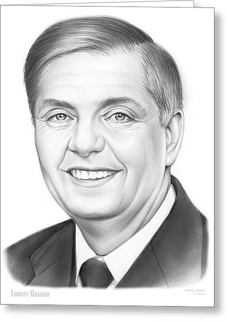 Senator Lindsey Graham Greeting Card