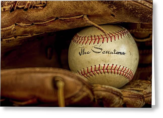 Senators Baseball Greeting Card