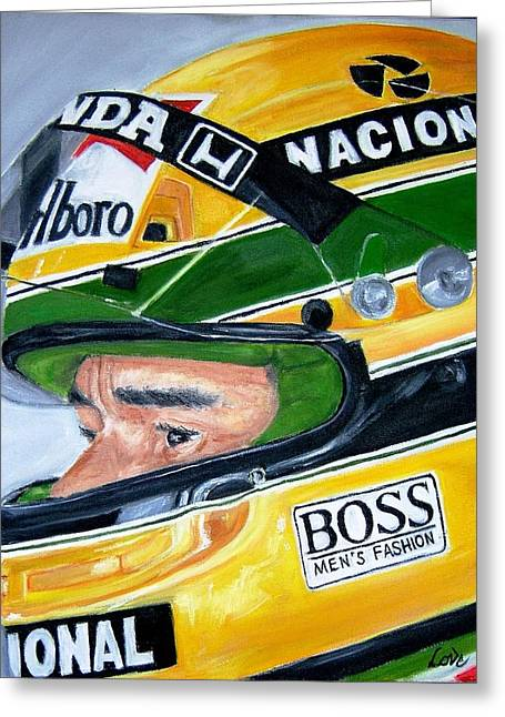 Senna  Greeting Card