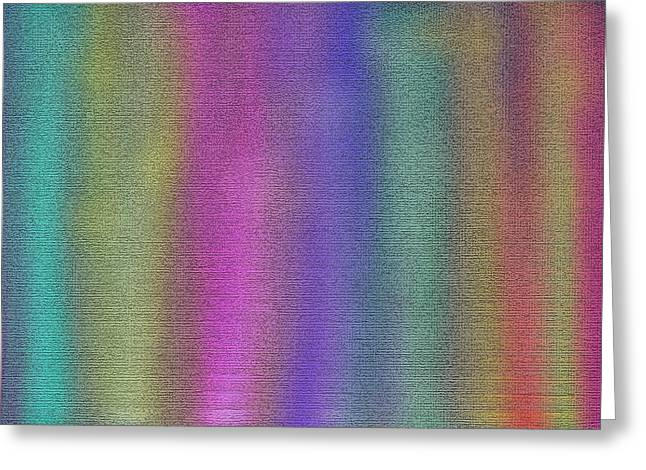 Sensations Painting  Greeting Card by Don  Wright