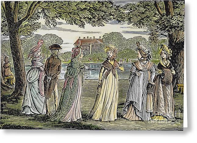 Sense & Sensibility, 1811 Greeting Card