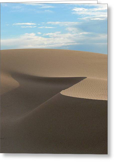 Ripples In The Sand Greeting Cards - Sensual Dune Greeting Card by Mark Grayden