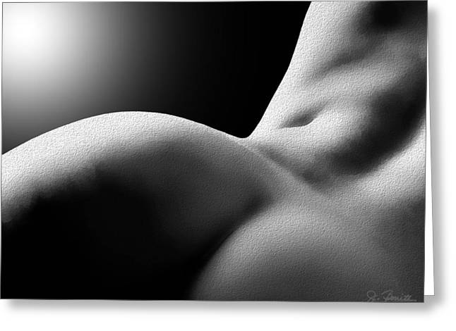 Sensual Sinuosity Greeting Card