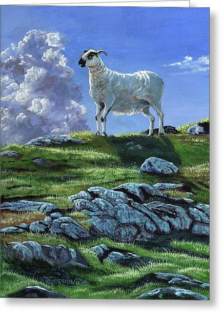 Sentinal Of The Highlands Greeting Card