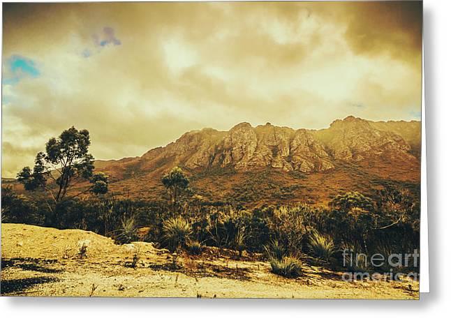 Sentinel Range Tasmania Greeting Card