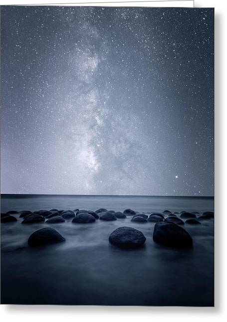 Greeting Card featuring the photograph Septarian Concretions by Dustin LeFevre