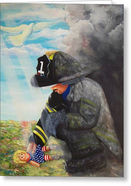September 11th Greeting Card