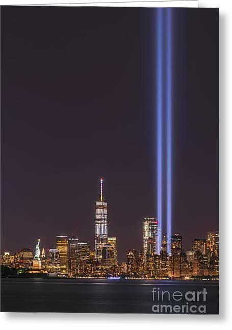 September 11th Memorial  Greeting Card