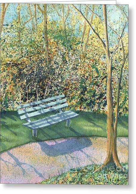 September Afternoon Greeting Card