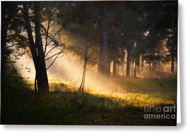 September Impressions Greeting Card