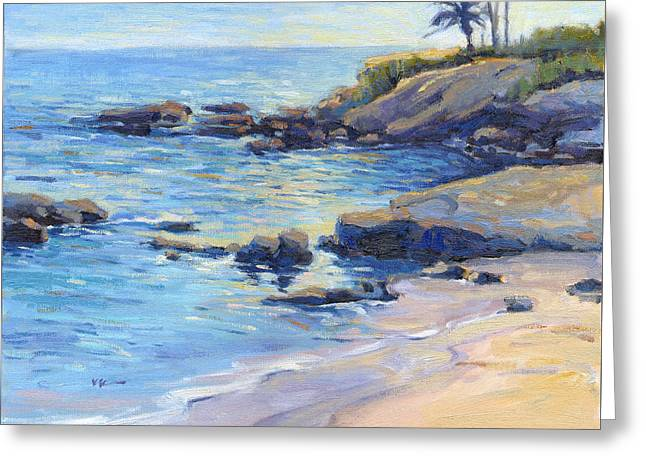 September Light / Laguna Beach Greeting Card