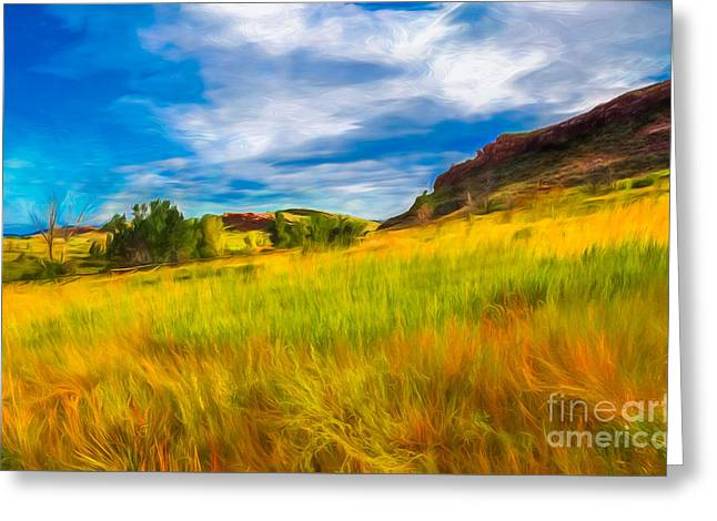 September Morn Greeting Card by Jon Burch Photography