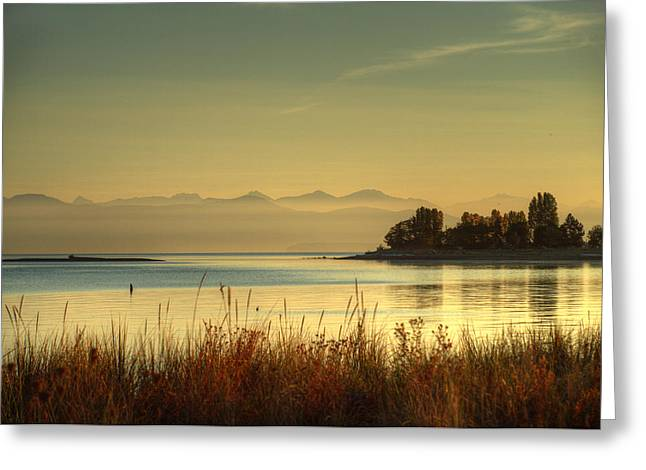 September Morn Greeting Card by Randy Hall
