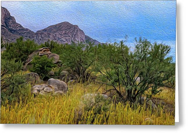 Greeting Card featuring the photograph September Oasis No.2 by Mark Myhaver