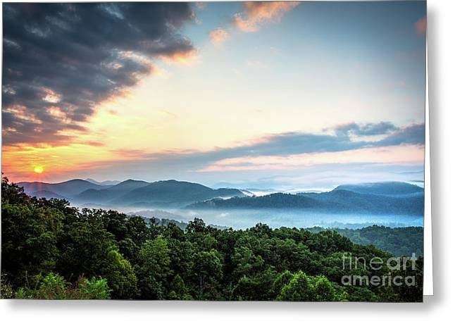Greeting Card featuring the photograph September Sunrise by Douglas Stucky