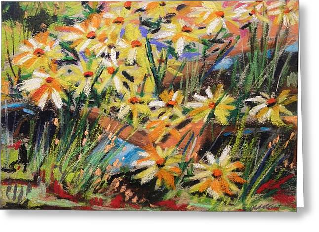 September Wildflowers Greeting Card by John Williams