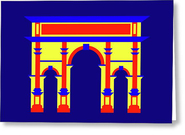 Septimus Severus Rome Greeting Card by Asbjorn Lonvig