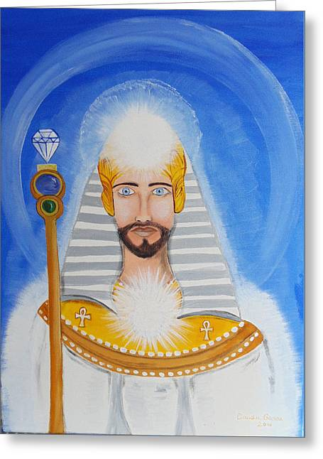 Serapis Bey Greeting Card by Claudiu Ganea