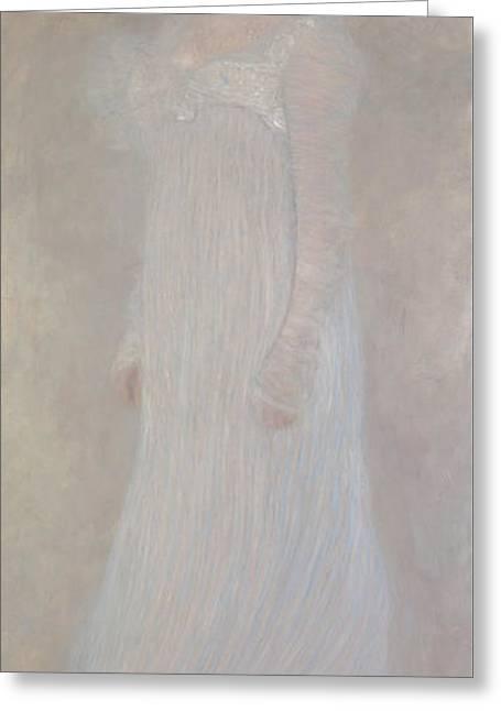 Serena Pulitzer Lederer, 1899 Greeting Card by Gustav Klimt