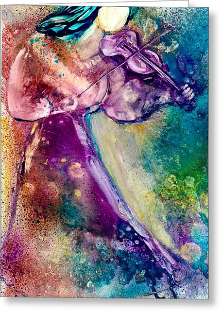 Serenade Greeting Card