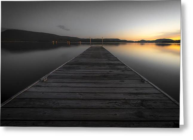 Serene Lake 2 Greeting Card
