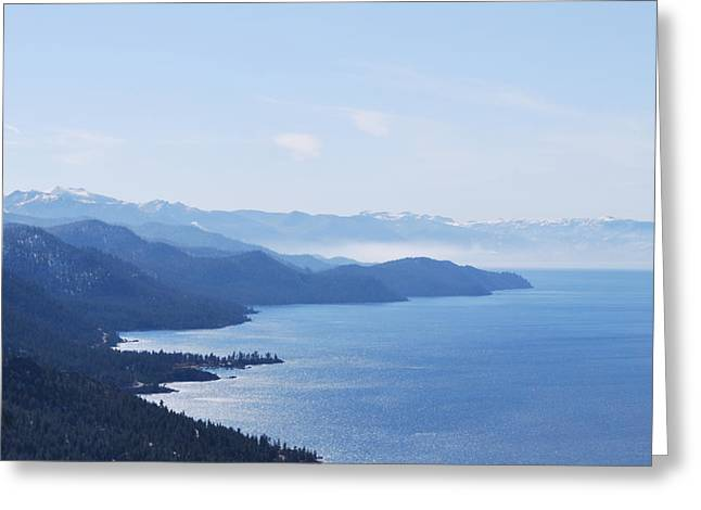 Serene Greeting Card by Linda Sramek