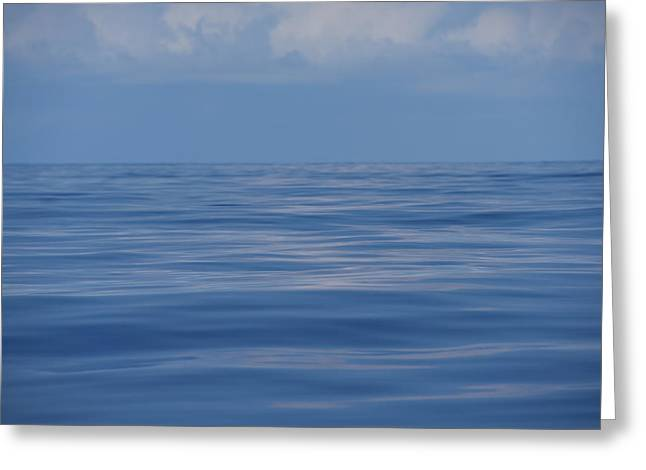 Serene Pacific Greeting Card