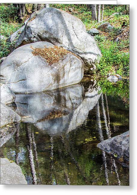 Serene Reflections Greeting Card