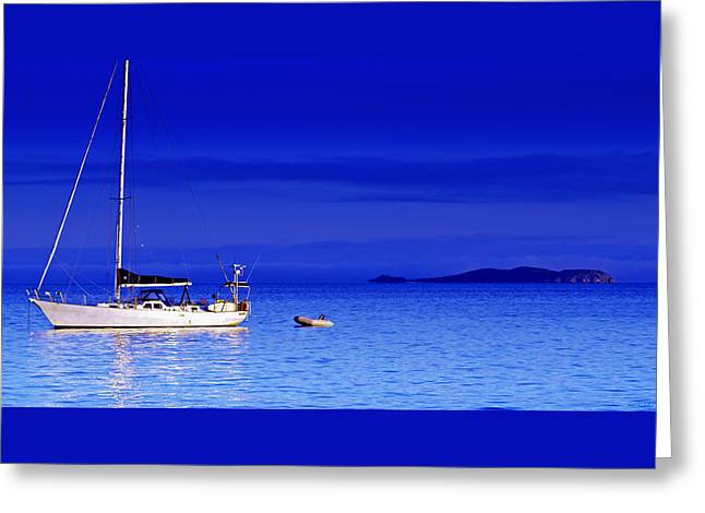 Serene Seas Greeting Card by Holly Kempe