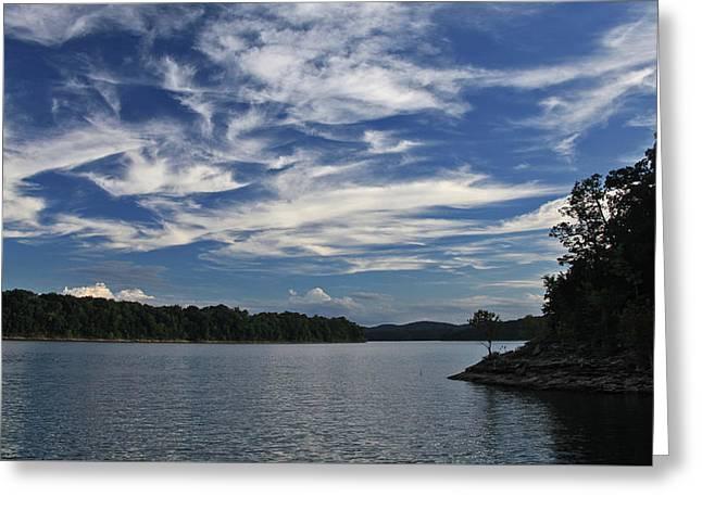 Serene Skies Greeting Card by Gary Kaylor