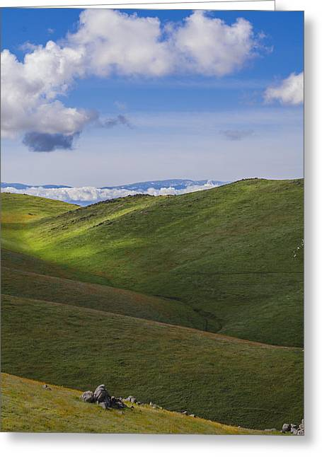 Serenity And Peace Greeting Card