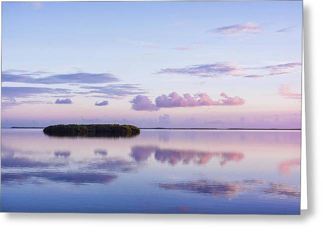 Serenity At Sunrise Greeting Card