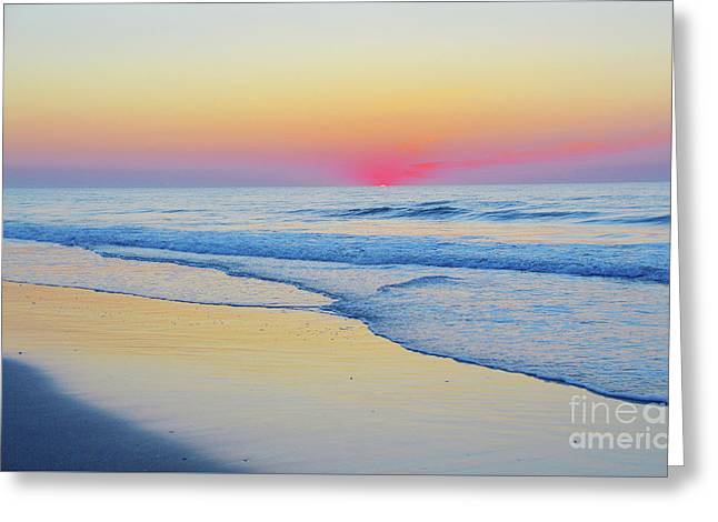 Serenity Beach Sunrise Greeting Card