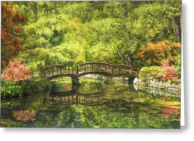Serenity Bridge Greeting Card
