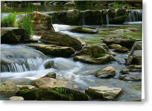 Water Greeting Cards Greeting Cards - Serenity  Greeting Card by Christopher  Ward