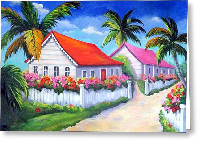 Serenity In Paradise Greeting Card