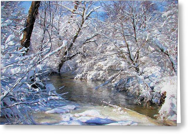 Serenity Greeting Card by JC Findley