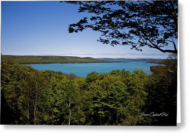 Greeting Card featuring the photograph Serenity by Joann Copeland-Paul