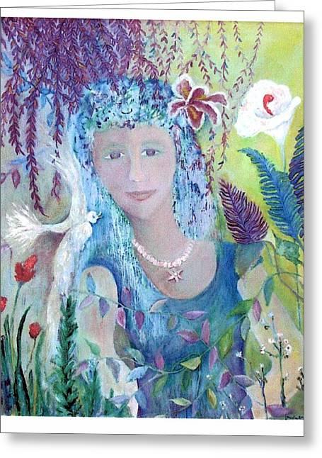Serenity Greeting Card by Marlene Robbins