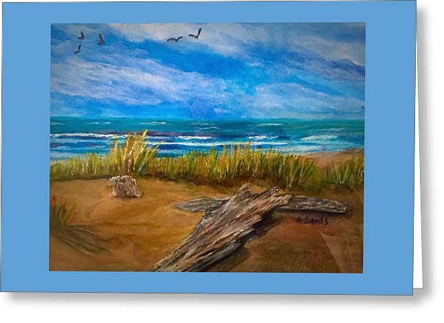 Serenity On A Florida Beach Greeting Card