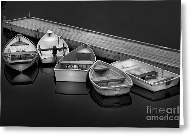 The Five Dinghy's  Greeting Card