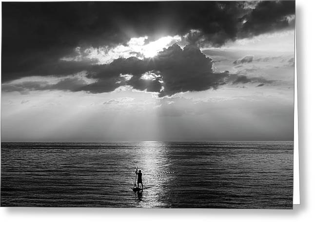 Serenity Greeting Card by Peter Chilelli