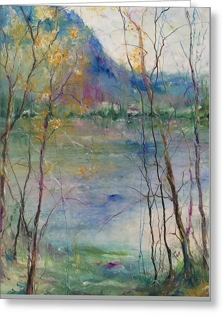 Serenity Greeting Card by Robin Miller-Bookhout
