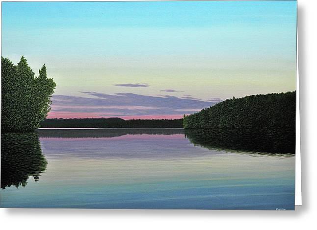 Serenity Skies Greeting Card by Kenneth M  Kirsch