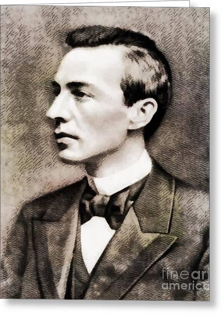 Sergei Rachmaninoff, Composer By John Springfield Greeting Card