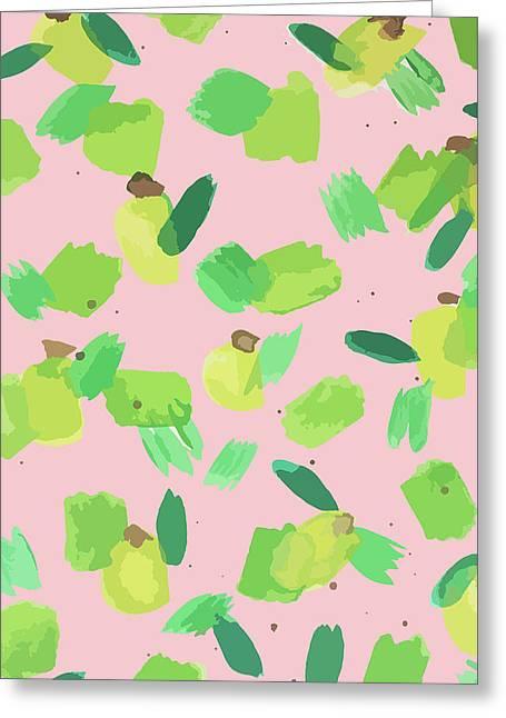 Series Pink 007 Greeting Card