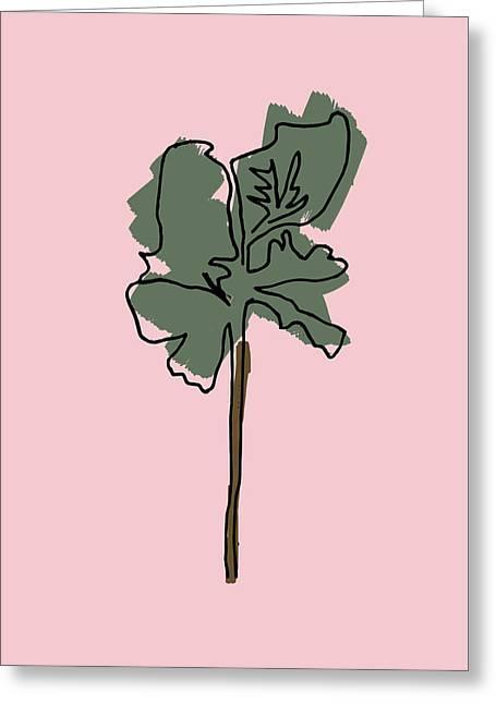 Series Pink 12 Greeting Card