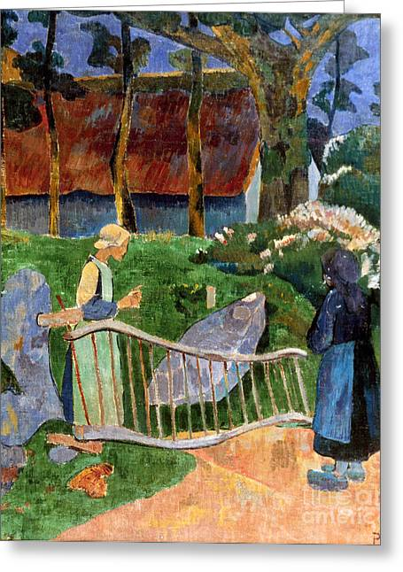Serusier: Barriere, 1889 Greeting Card by Granger
